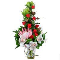 Заказать «Торжественный» букет цветов с доставкой