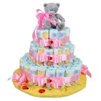 Купить торт из памперсов на рождение ребенка