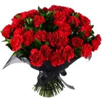 Букет Funeral bouquet of carnations