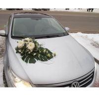 Заказать свадебное украшение на машину с доставкой