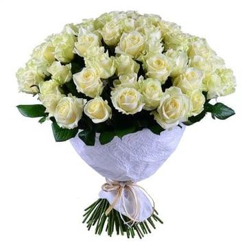 101 белая роза Нойальбенройт