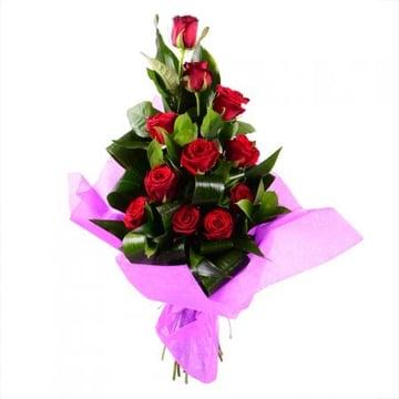 Букет 11 красных роз Занесвиль
