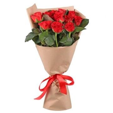 11 красных роз Занесвиль