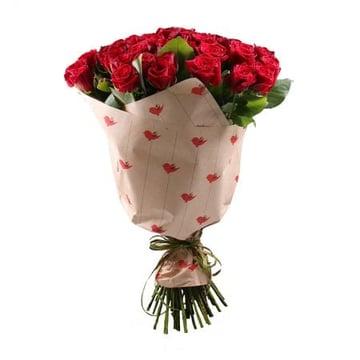 Букет 51 бордовая роза Брест (Беларусь)