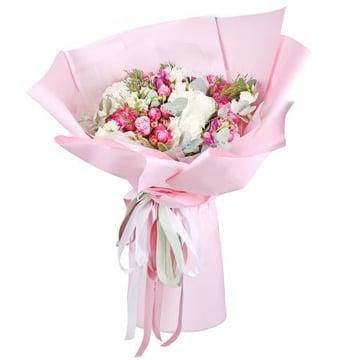 Букет-гигант Розовое счастье Барановичи