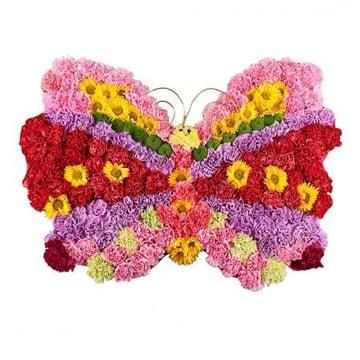 Композиция  из цветов «Бабочка» Барановичи
