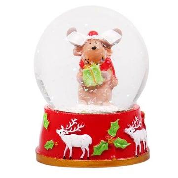 Новорічний сніжна куля Київ