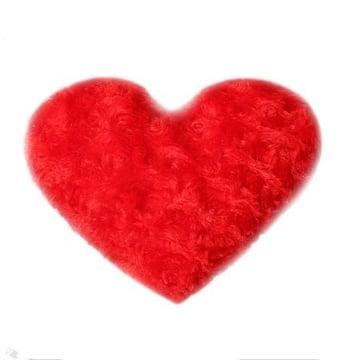 Подушка Красное сердечко Киев