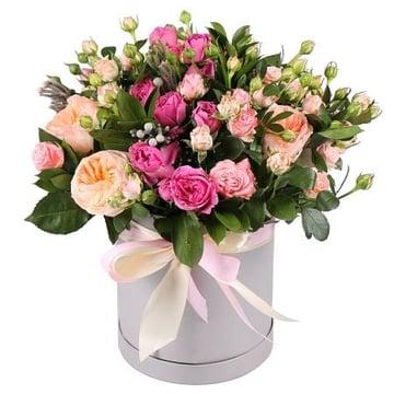 Розы в коробке Джульетта Киев