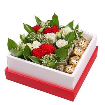 Цветы + конфеты: Цветочная Радость Поморье