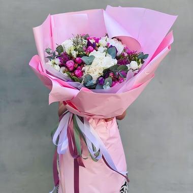 Букет-гигант Розовое счастье Киев