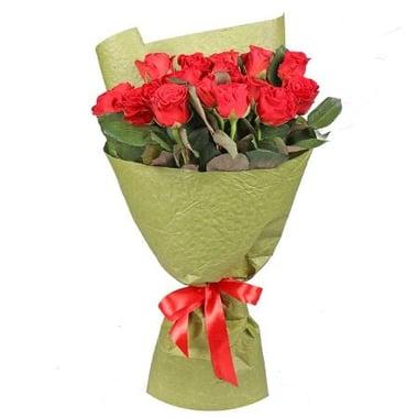 15 красных роз Югорск