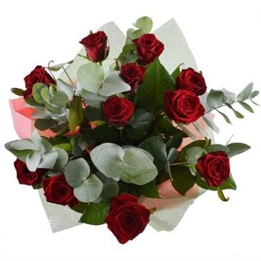 Классический комплимент 11 роз Арыс