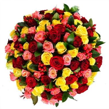 100 разноцветных роз Федоровский