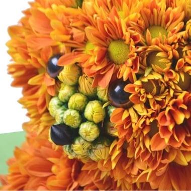 Игрушка из цветов - Лисенок Киев