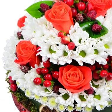Цветочный десерт Киев
