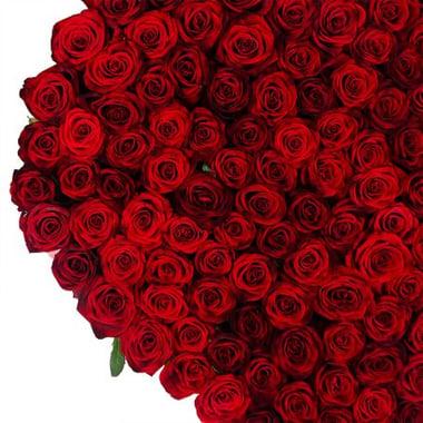 Сердце из роз (145 роз) Москва-Северо-Восточный Округ