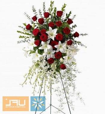 Ритуальная композиция из живых цветов № 4 Киев