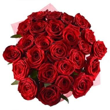Букет 25 красных роз Георгиевск