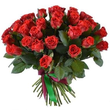 45 красных роз Гаага