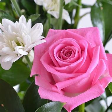 Букет с хризантемой Я с тобой Киев