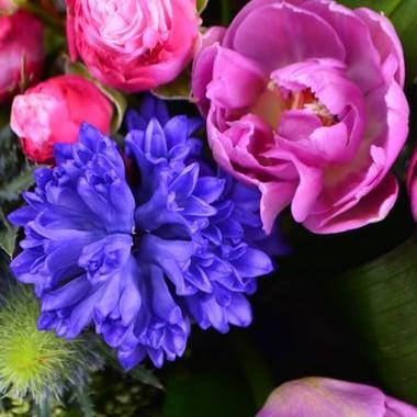Необычная корзина цветов Киев
