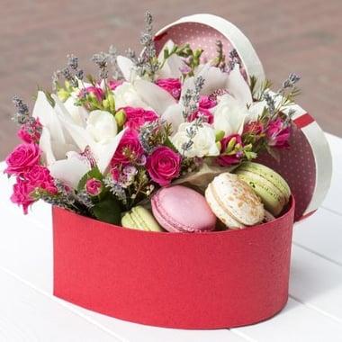 Цветочная коробочка счастья Киев