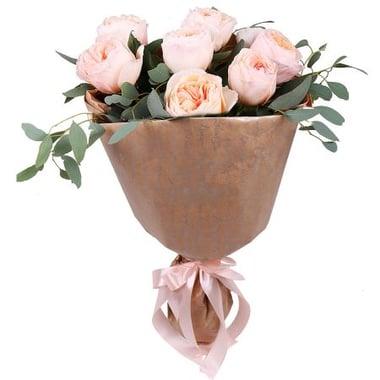 7 кремовых роз Дэвида Остина Ольденбург
