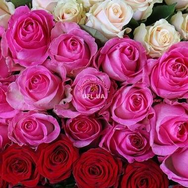 Магический шар из 303 роз Мурманск