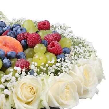 Цветы в коробке - Вкусная любовь Югорск