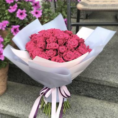 51 малиновая роза Киев