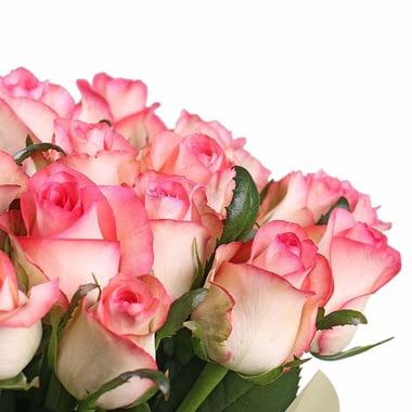 25 розовых роз Георгиевск