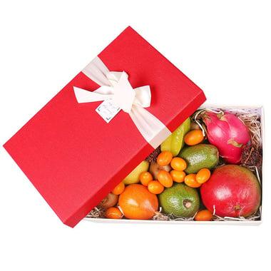 Коробка с экзотическими фруктами Крым