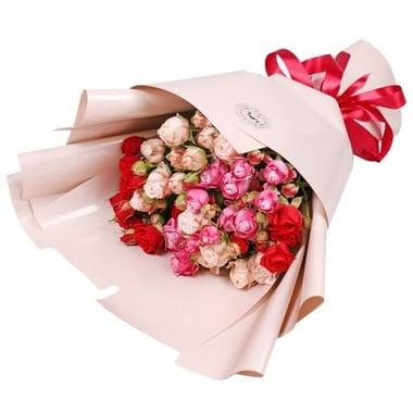 9 кустовых роз Бердянск
