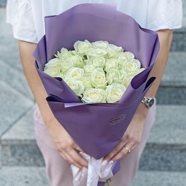 Акция! 25 белых роз Киев