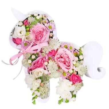 Єдиноріг з квітів Київ