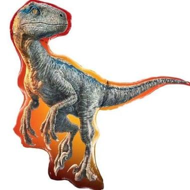 Фольгированный динозавр Раптор Киев