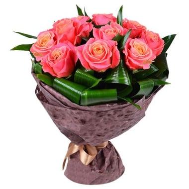 Букет цветов Гармония 9 роз Талса