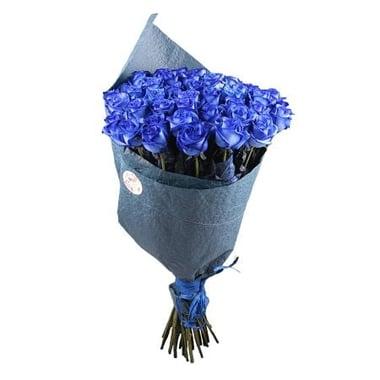 Із 51 синьої троянди  Київ