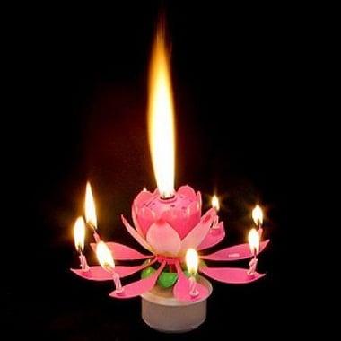 Музыкальная свеча Лотос Киев