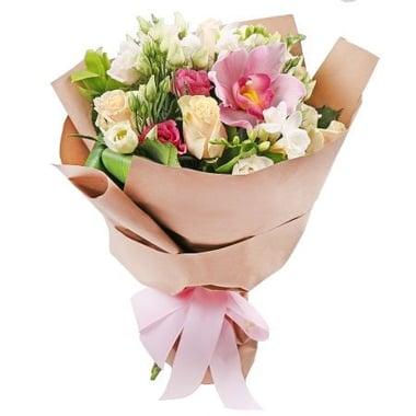Букет цветов Нежный подарок Шанхай