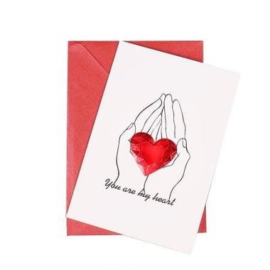 Листівка You are my heart Київ
