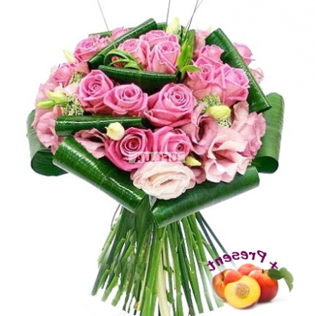 букет из гладиолусов. цветы купить москва.