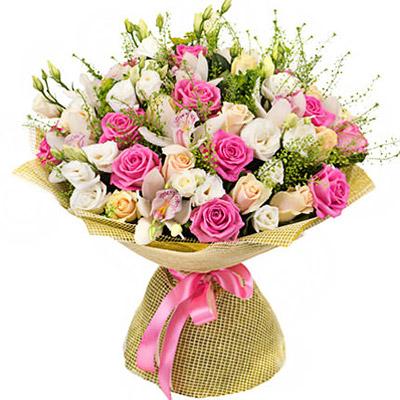 Цветы с курьерской доставкой девушке розы по почте купить алтай
