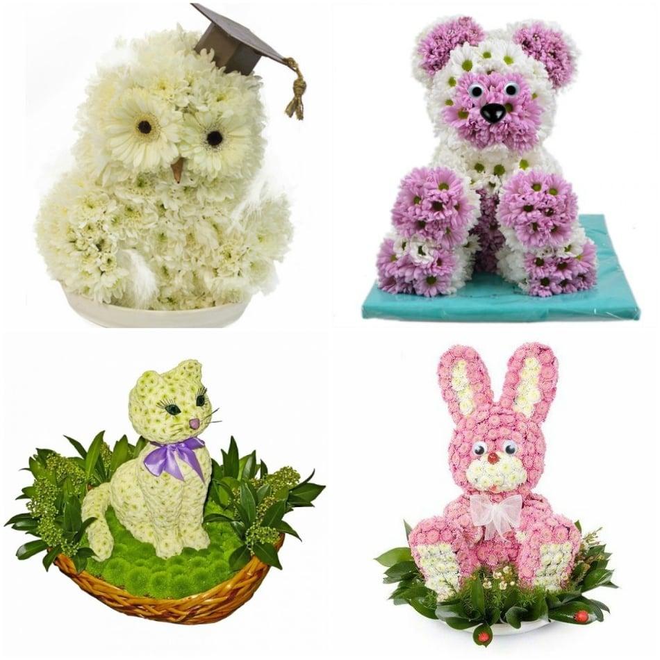 Цветочные игрушки фото