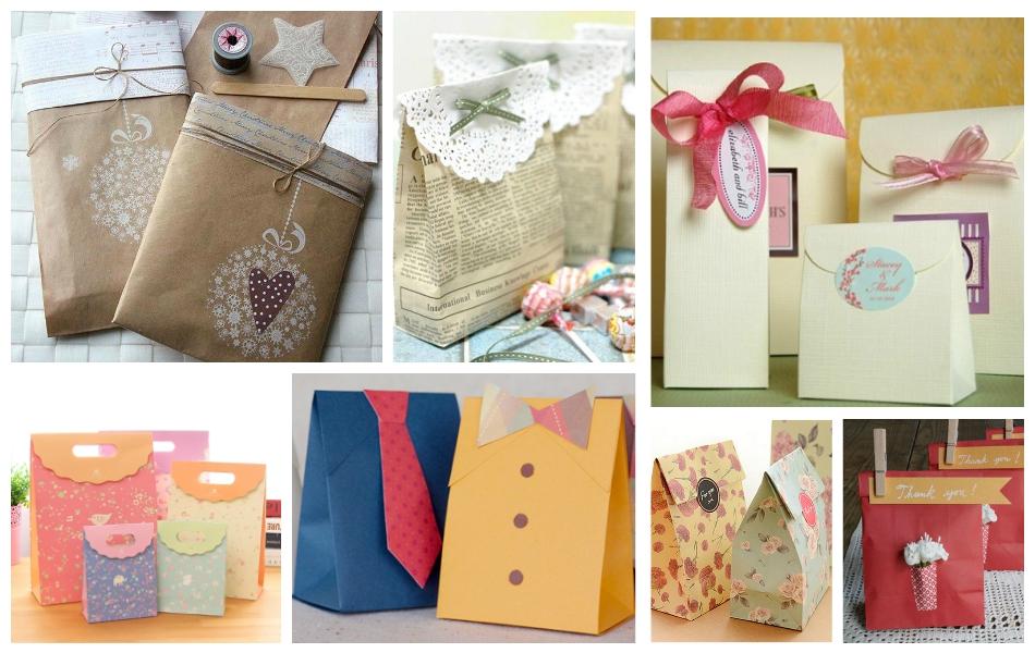 Как запаковывать подарки без коробки в бумагу 166