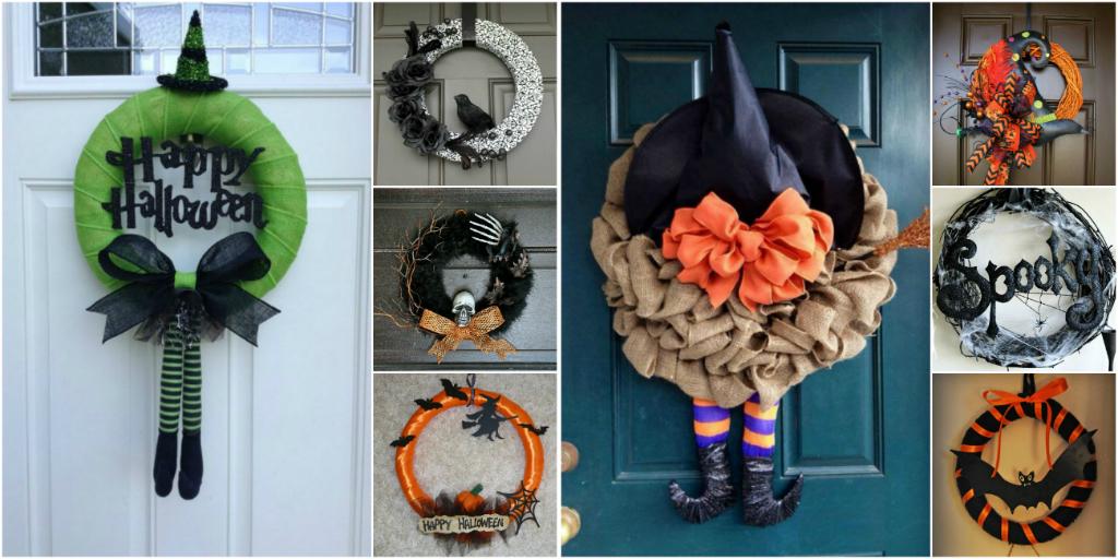 Как своими руками украсить дом к хеллоуину своими руками