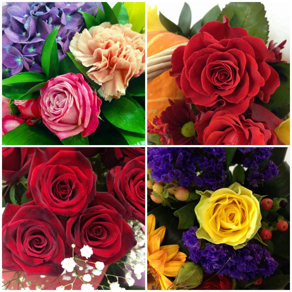 Самые красивые букеты роз