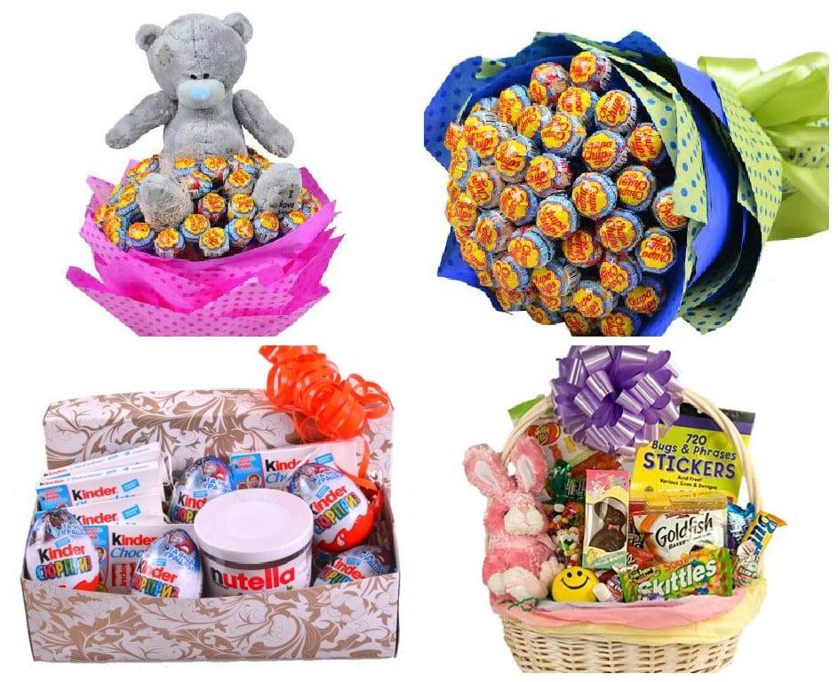 Как сделать сладкие подарки 8