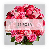 51 роза по Тосно